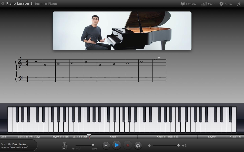 Piano Garage Band : Learn to play piano with garageband aaron buckley
